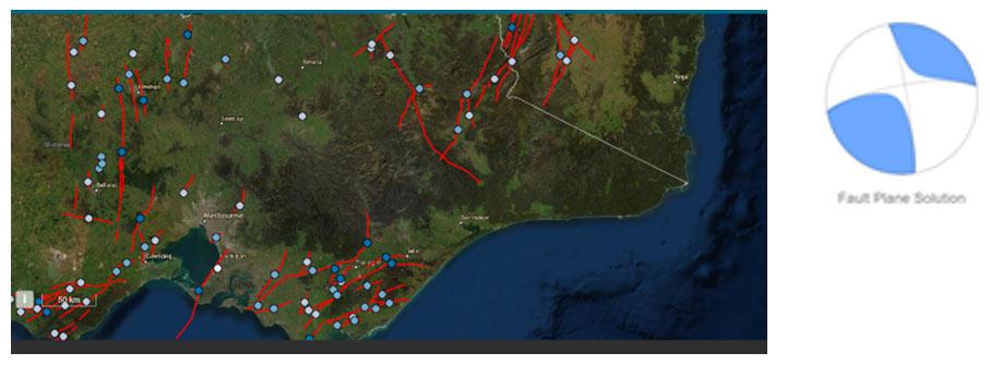 Potential earthquake fault
